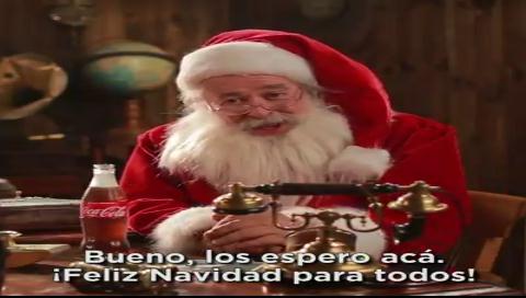 Espera la llamada de Papá Noel en esta Navidad
