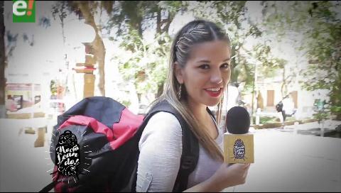 Claudia Cuefer, la cruceña que  viajará por Bolivia y el mundo junto a eju.tv