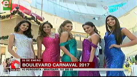 Boulevard Carnaval será este 20 de enero