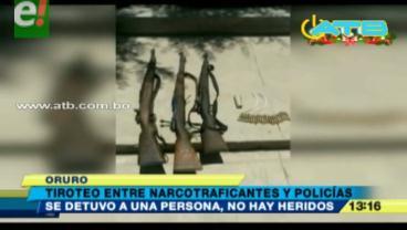 Se registró un tiroteo entre narcotraficantes y policías en Oruro