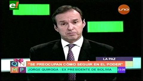 Ambición sin límite, buscar repostulación del presidente Morales