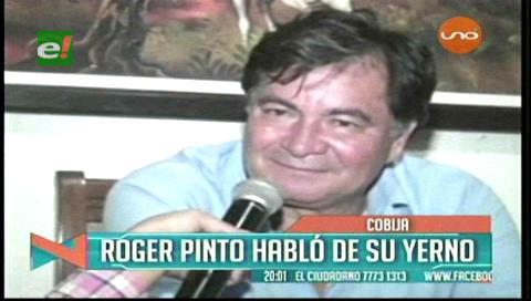 Roger Pinto habló de su yerno: «Miguel Quiroga era un sostén para nuestra familia»