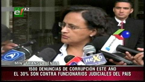 2016: Transparencia recibió 1500 denuncias de corrupción