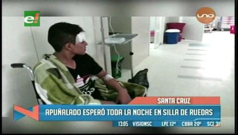 Apuñalado esperó toda la noche para recibir atención médica en el hospital El Bajío
