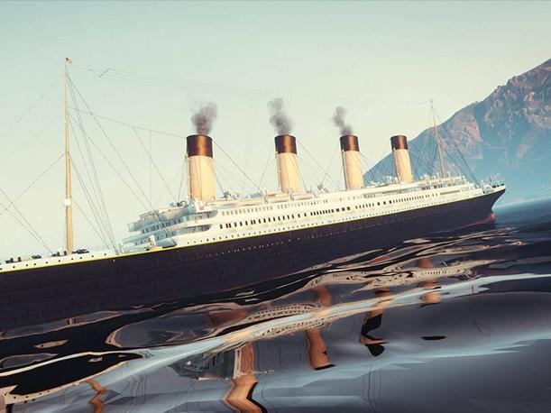 YouTube: la recreación del hundimiento del Titanic es boom en redes