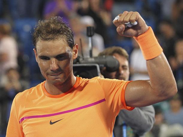 Rafael Nadal abre el torneo de Brisbane contra Dolgopolov