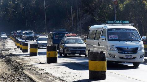 Congestionamiento autopista