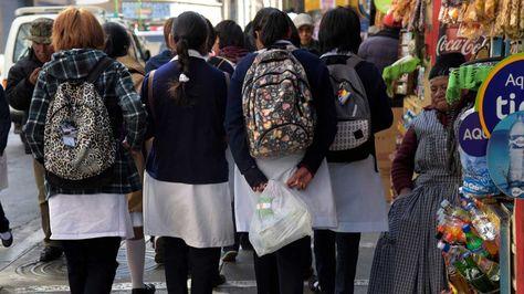 Adolescentes mujeres. Foto: La Razón