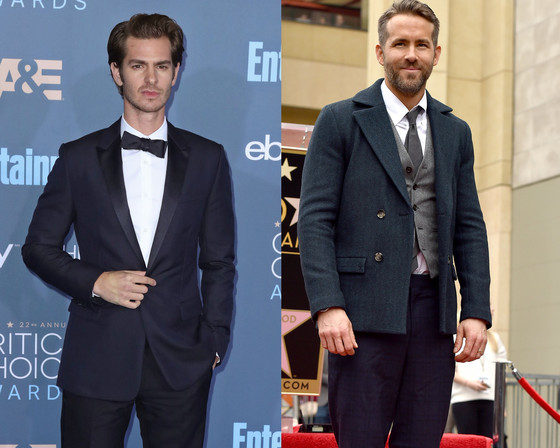 Ryan Reynolds, Andrew Garfield