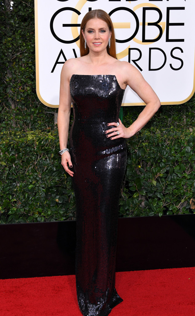 Amy Adams, 2017 Golden Globes, Arrivals