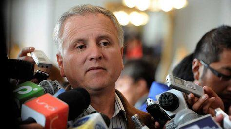El gerente de la Empresa Administradora de Servicios Portuarios de Bolivia (ASPB), David Sánchez. Foto: La Razón