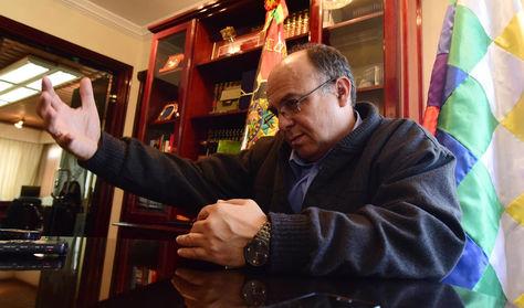 El ministro de Defensa, Reymi Ferreira
