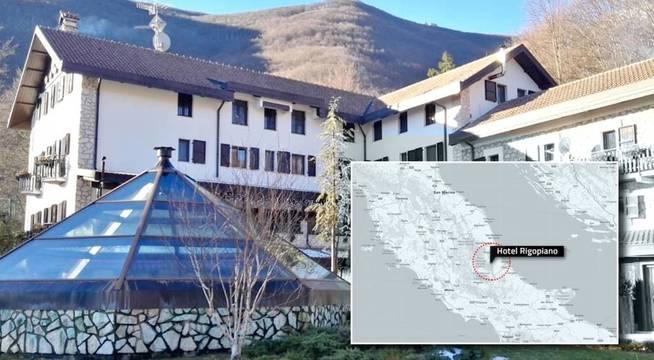La localización del hotel. (Carmen Castellón)