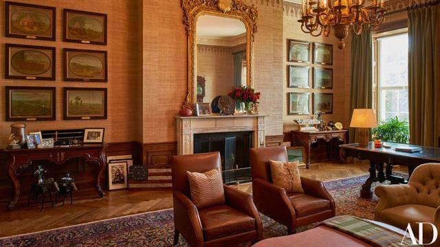 Así lució la Casa Blanca durante la administración Obama. Foto: Architectural Digest