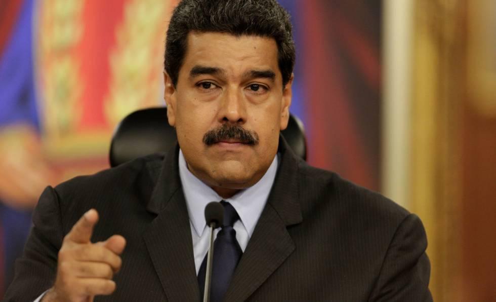 El presidente de Venezuela, Nicolás Maduro.