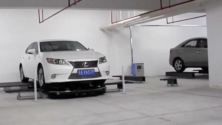 Abre en China el primer garaje robotizado del mundo (VIDEO)
