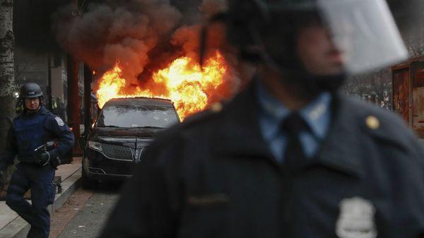 Los manifestantes podrían enfrentar fuertes condenas por los disturbios