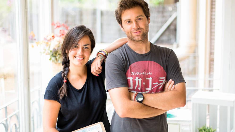Foto: Ángela Cabal y Javier Aracil son los fundadores de Mr Wonderful.