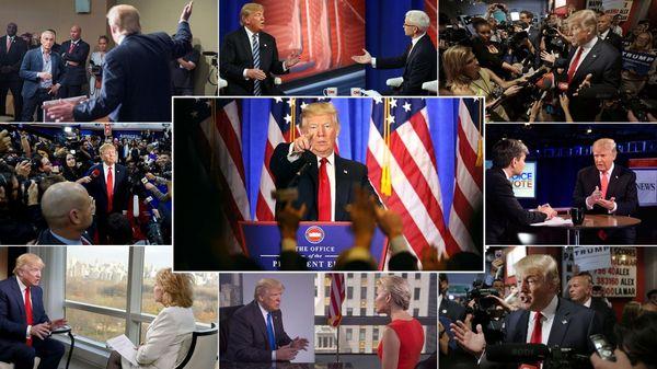 Donald Trump y los periodistas, una relación muy complicada