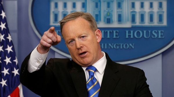 El secretario de Prensa estadounidense, Sean Spicer (Reuters)