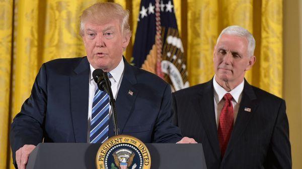 Donald Trump aclaró que su veto no es contra los musulmanes (AFP)