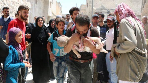 La ciudad siria de Alepo vive una de las peores crisis humanitarias de las últimas décadas (AFP)