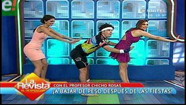 """Ponte en forma con los ejercicios caseros de """"Chicho Rosas"""""""