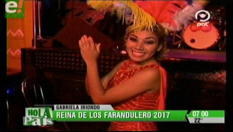 Los Faranduleros presentaron a su reina del carnaval 2017
