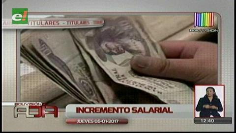 Video titulares de noticias de TV – Bolivia, mediodía del jueves 5 de enero de 2017
