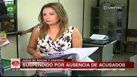 Caso LaMia: Suspenden la audiencia de Rocha y Castedo por inasistencia de los acusados