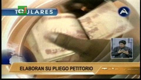 Video titulares de noticias de TV – Bolivia, noche del viernes 6 de enero de 2017