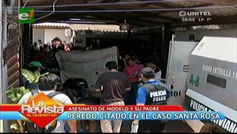 Erwin Peredo pidió la devolución de una vagoneta implicada en el caso Santa Rosa