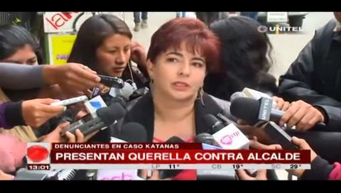 Caso Katanas: Presentan querella contra el alcalde Luis Revilla