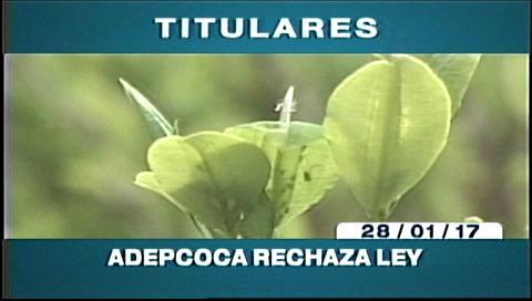 Video titulares de noticias de TV – Bolivia, mediodía del sábado 28 de enero de 2017