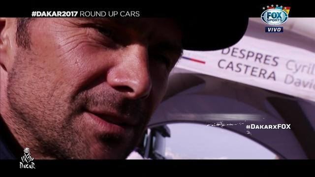 Así fue la primera mitad del Dakar para los autos