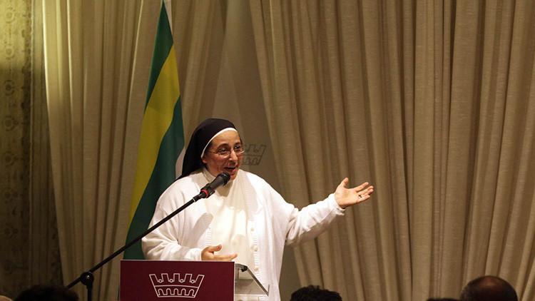 Amenazan de muerte a la monja Lucía Caram por sugerir que María tenía sexo y no era virgen