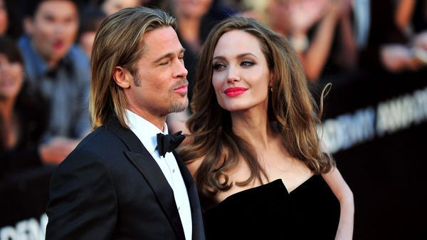 Brad Pitt y Angeline Jolie