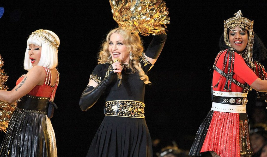 Madonna, MIA, Nicki Minaj, Super Bowl