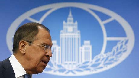 El ministro de Exteriores ruso Serguéi Lavrov, Moscú, 17 de enero de 2017.
