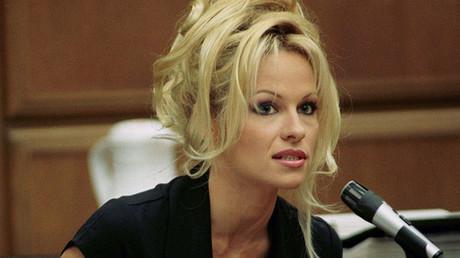 La actriz estadounidense Pamela Anderson