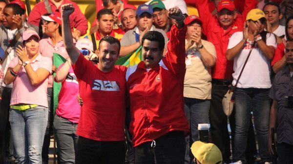 Tareck El Aissami fue designado vicepresidente por Nicolás Maduro