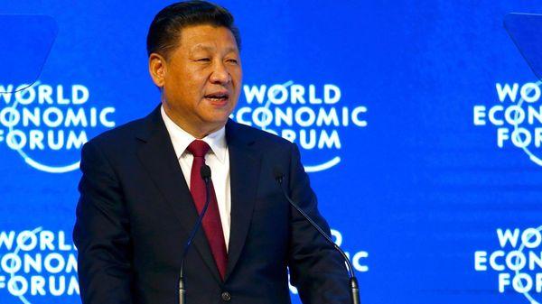 """El presidente chino Xi Jingpin dijo en Davos que """"nadie saldrá ganador de una guerra comercial"""" (Reuters)"""