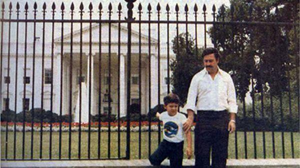 Ésta era una de las fotos preferidas de Pablo Escobar