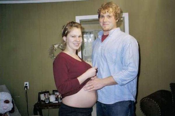 A las 23 semanas de gestación, Brooke Myrick perdió a uno de los gemelos por TTTS, una rara enfermedad que se desarrolla en el útero