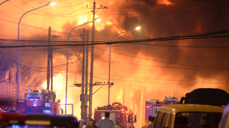 FOTO, VIDEO: Se registra una fuerte explosión en una planta química de China