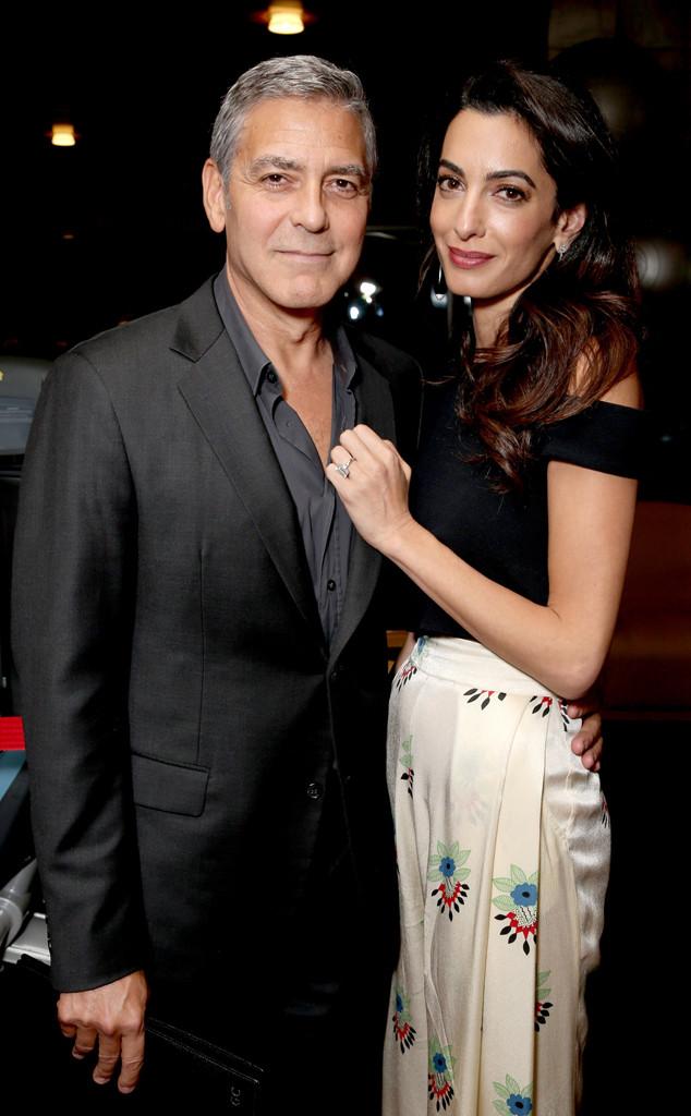 Amal Clooney, George Clooney, Pregnancy Fashion