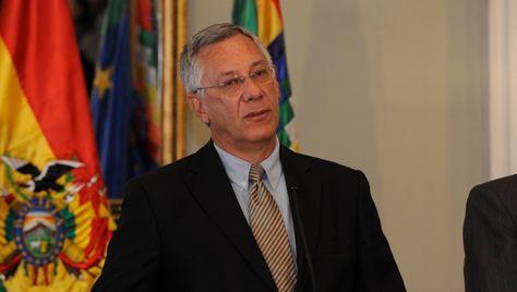 El agente de Bolivia para la demanda marítima, Eduardo Rodríguez Veltzé. Foto:Archivo