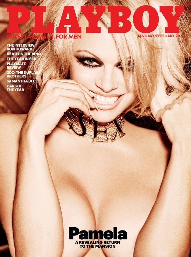 Pamela Anderson protagonizó el último desnudo de Playboy antes del parón de un año