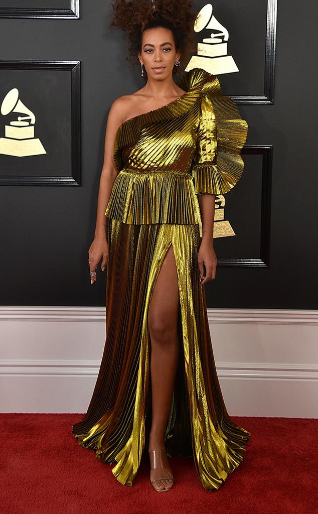 Solange Knowles, 2017 Grammys, Arrivals