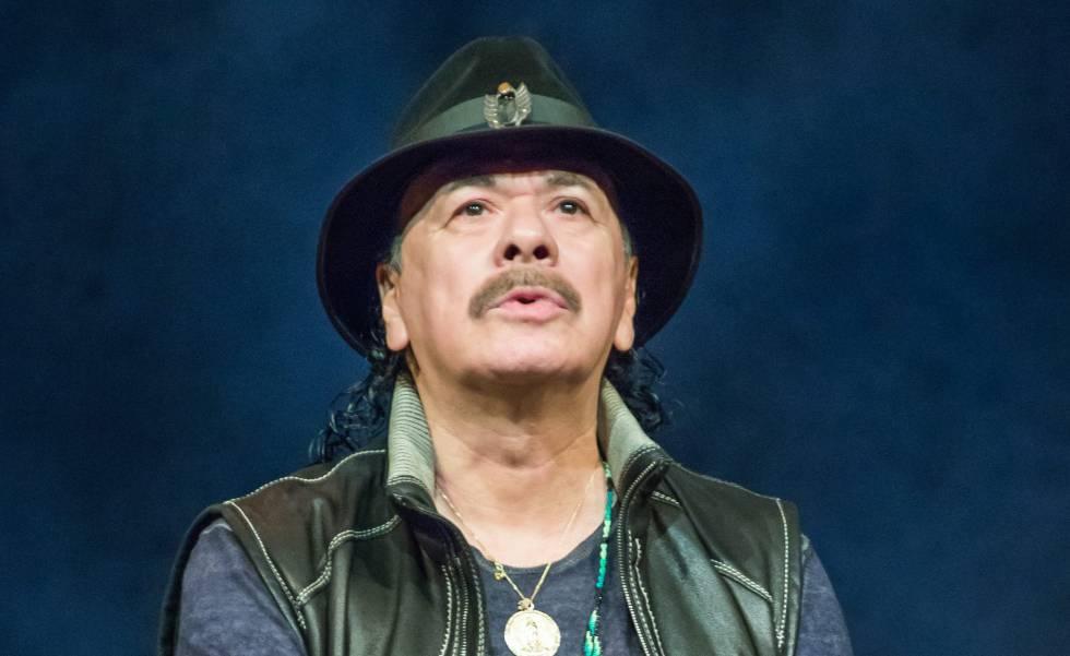Carlos Santana, el pasado mes de abril.